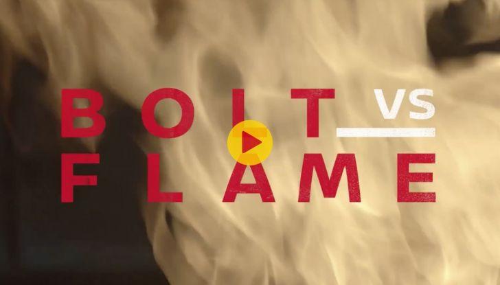 Usain Bolt, 6 volte medaglia d'oro alle Olimpiadi, sfida il fuoco - Foto 9 di 9