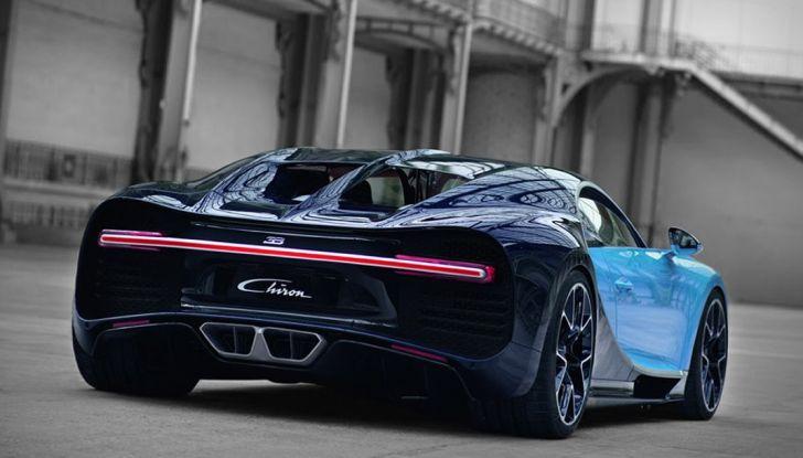 Bugatti Chiron Hybrid, potrebbe arrivare con 2000CV - Foto 3 di 9