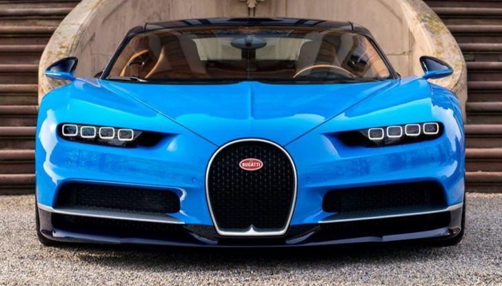 Bugatti Chiron Hybrid, potrebbe arrivare con 2000CV - Foto 4 di 9