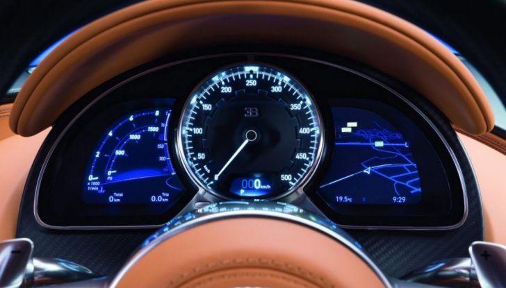 Bugatti Chiron Hybrid, potrebbe arrivare con 2000CV - Foto 5 di 9