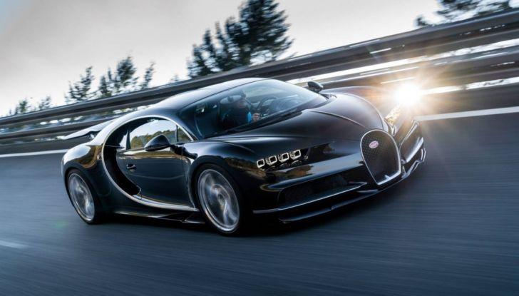 Bugatti Chiron Hybrid, potrebbe arrivare con 2000CV - Foto 6 di 9