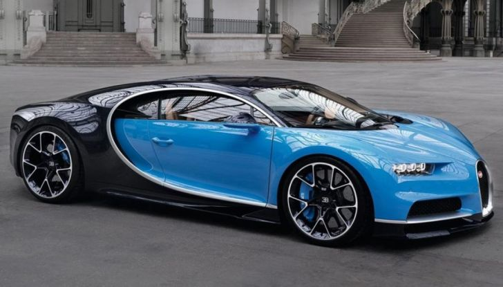 Bugatti Chiron Hybrid, potrebbe arrivare con 2000CV - Foto 7 di 9