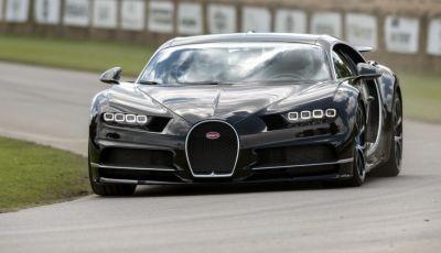 Bugatti Chiron Hybrid, potrebbe arrivare con 2000CV