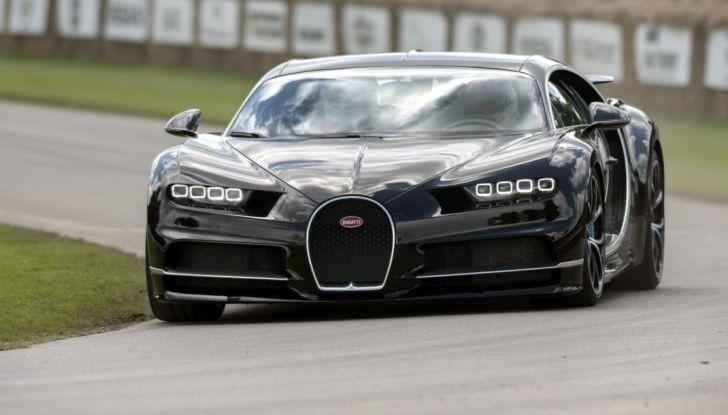 Bugatti Chiron Hybrid, potrebbe arrivare con 2000CV - Foto 1 di 9