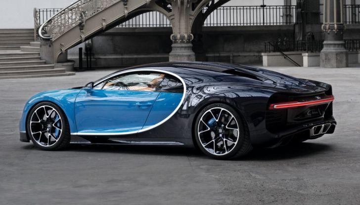 Bugatti Chiron Hybrid, potrebbe arrivare con 2000CV - Foto 8 di 9