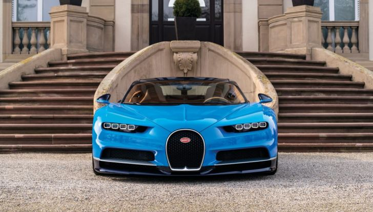 Bugatti Chiron Hybrid, potrebbe arrivare con 2000CV - Foto 2 di 9