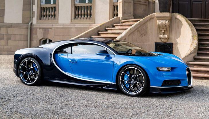 Bugatti Chiron Hybrid, potrebbe arrivare con 2000CV - Foto 9 di 9