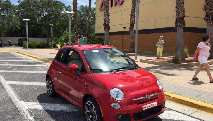 Fiat 500, prova su strada.