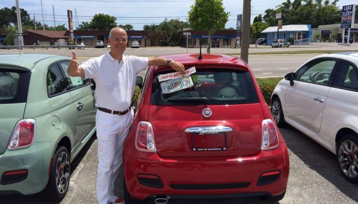Fiat 500, prova su strada in Usa con il direttore di Infomotori.