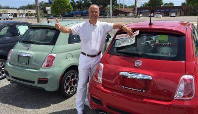 Fiat 500 provata su strada negli USA