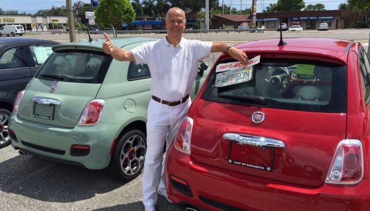 Fiat 500, prova su strada in Florida con il direttore di Infomotori.