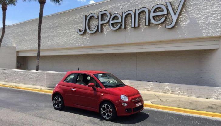 Fiat 500, prova su strada, in movimento.