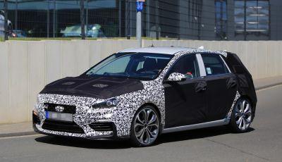 Hyundai i30 N 2017: le ultime foto spia