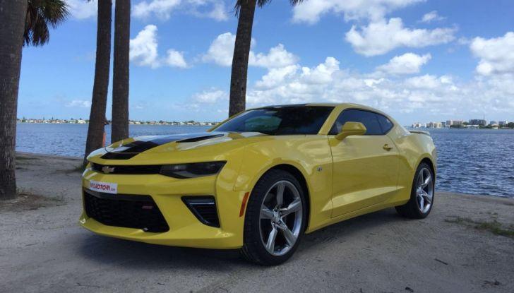 Prova su strada Chevrolet Camaro SS 2016: il V8 da 6,2 litri e 433CV - Foto 3 di 29