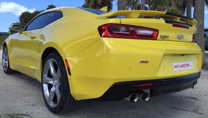Prova su strada Chevrolet Camaro SS 2016: il V8 da 6,2 litri e 433CV - Foto 2 di 29