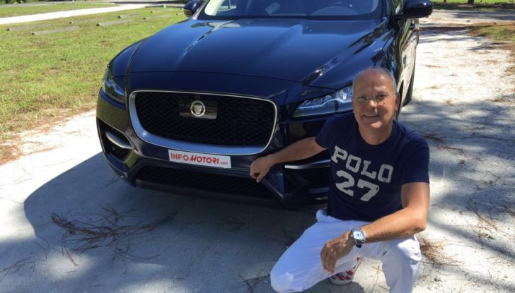 Jaguar F-Pace provata su strada negli USA, in Florida - Foto 1 di 19