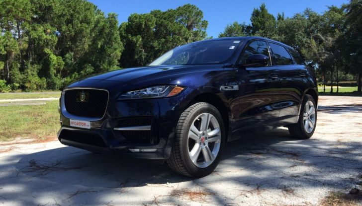 Jaguar F-Pace provata su strada negli USA, in Florida - Foto 2 di 19