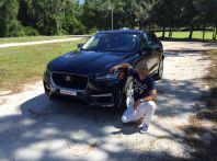 Jaguar F-Pace provata su strada negli USA, in Florida