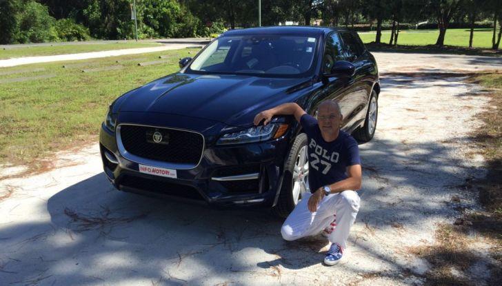 Jaguar F-Pace provata su strada negli USA, in Florida - Foto 7 di 19