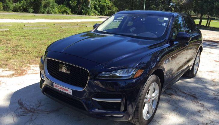 Jaguar F-Pace provata su strada negli USA, in Florida - Foto 14 di 19
