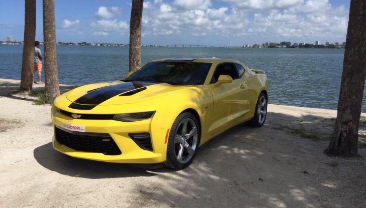 Prova su strada Chevrolet Camaro SS 2016: il V8 da 6,2 litri e 433CV - Foto 1 di 29