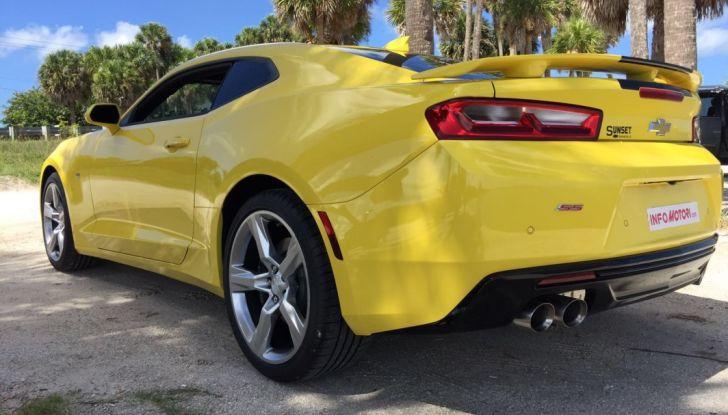 Prova su strada Chevrolet Camaro SS 2016: il V8 da 6,2 litri e 433CV - Foto 14 di 29