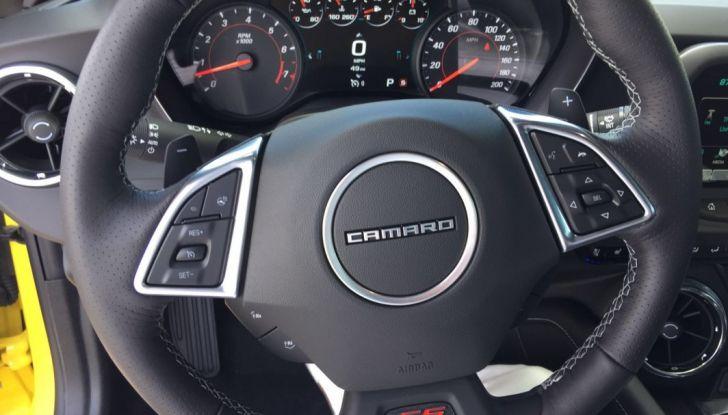 Prova su strada Chevrolet Camaro SS 2016: il V8 da 6,2 litri e 433CV - Foto 19 di 29