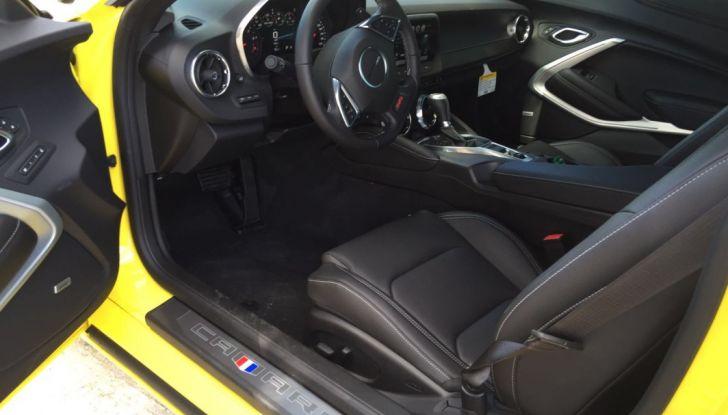 Prova su strada Chevrolet Camaro SS 2016: il V8 da 6,2 litri e 433CV - Foto 20 di 29