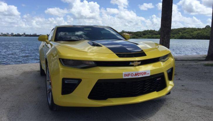 Prova su strada Chevrolet Camaro SS 2016: il V8 da 6,2 litri e 433CV - Foto 23 di 29