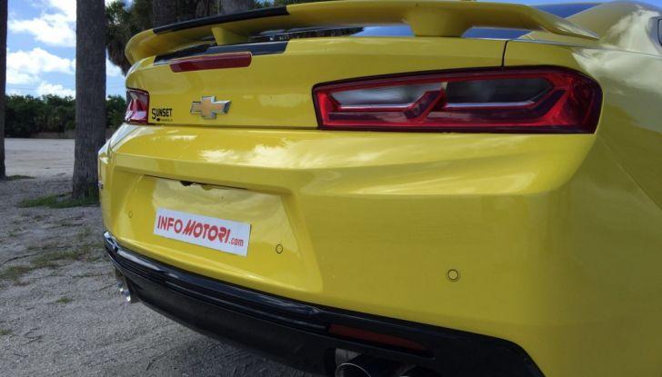Prova su strada Chevrolet Camaro SS 2016: il V8 da 6,2 litri e 433CV - Foto 25 di 29