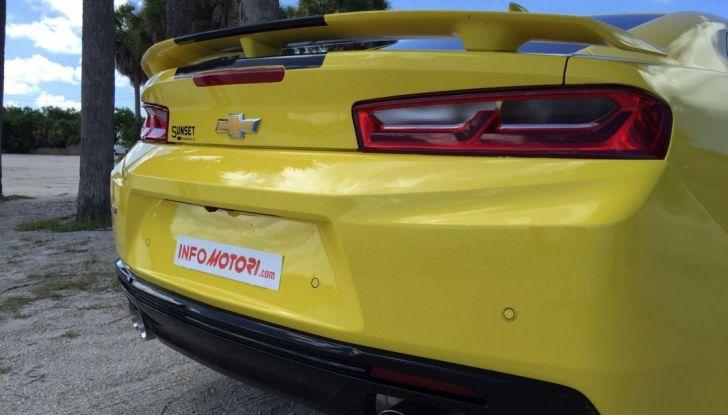 Prova su strada Chevrolet Camaro SS 2016: il V8 da 6,2 litri e 433CV - Foto 26 di 29