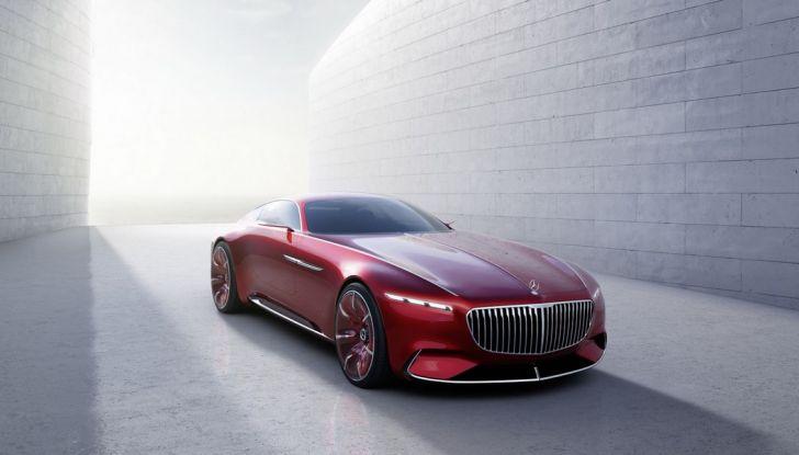 Vision Mercedes-Maybach 6: una concept elettrica da 750 CV - Foto 4 di 21