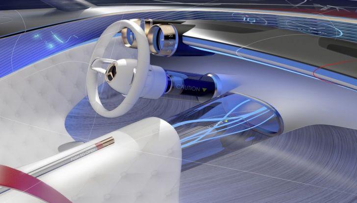 Vision Mercedes-Maybach 6: una concept elettrica da 750 CV - Foto 12 di 21