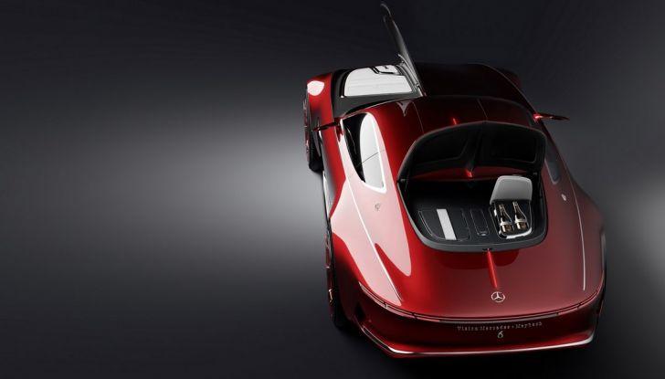 Vision Mercedes-Maybach 6: una concept elettrica da 750 CV - Foto 14 di 21