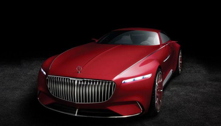 Vision Mercedes-Maybach 6: una concept elettrica da 750 CV - Foto 17 di 21