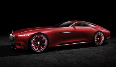 Vision Mercedes-Maybach 6: una concept elettrica da 750 CV