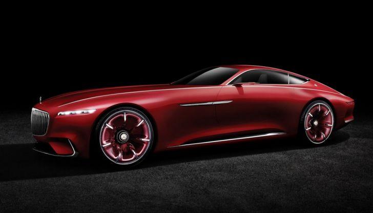 Vision Mercedes-Maybach 6: una concept elettrica da 750 CV - Foto 1 di 21