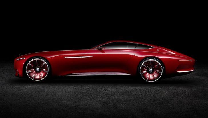 Vision Mercedes-Maybach 6: una concept elettrica da 750 CV - Foto 18 di 21