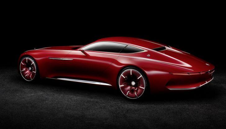 Vision Mercedes-Maybach 6: una concept elettrica da 750 CV - Foto 19 di 21