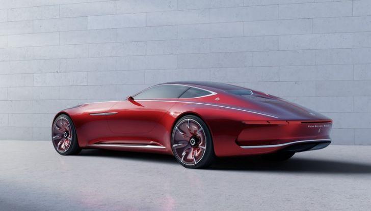 Vision Mercedes-Maybach 6: una concept elettrica da 750 CV - Foto 5 di 21