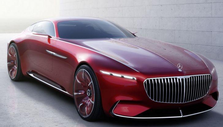 Vision Mercedes-Maybach 6: una concept elettrica da 750 CV - Foto 20 di 21