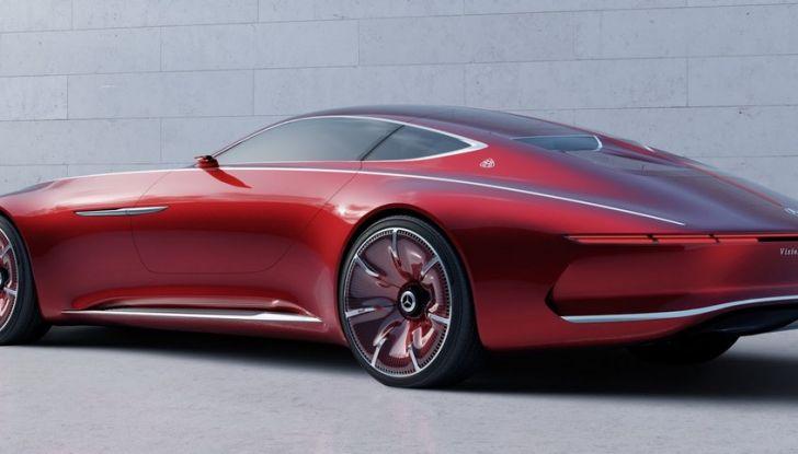 Vision Mercedes-Maybach 6: una concept elettrica da 750 CV - Foto 21 di 21