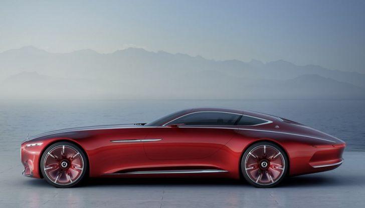 Vision Mercedes-Maybach 6: una concept elettrica da 750 CV - Foto 6 di 21