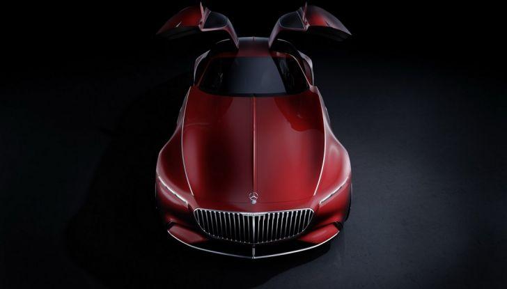 Vision Mercedes-Maybach 6: una concept elettrica da 750 CV - Foto 2 di 21
