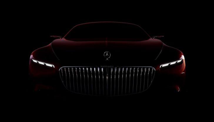 Vision Mercedes-Maybach 6: una concept elettrica da 750 CV - Foto 7 di 21