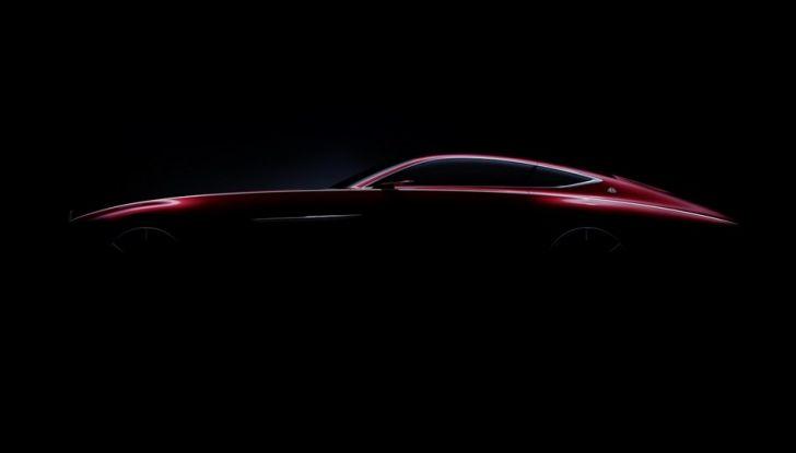 Vision Mercedes-Maybach 6: una concept elettrica da 750 CV - Foto 8 di 21
