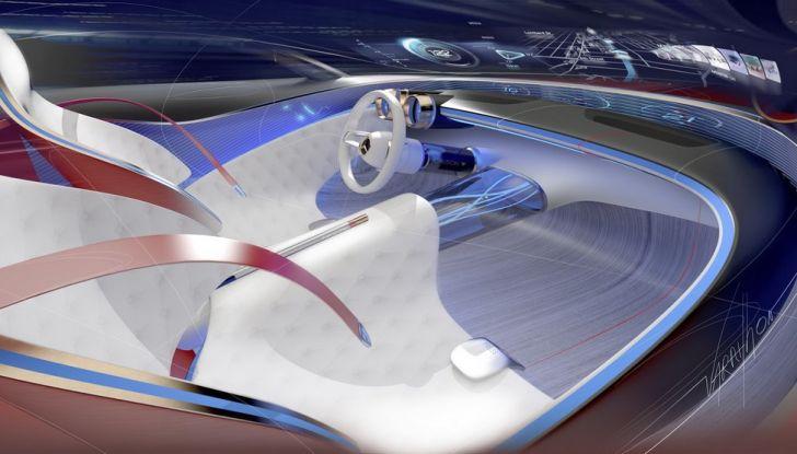 Vision Mercedes-Maybach 6: una concept elettrica da 750 CV - Foto 9 di 21