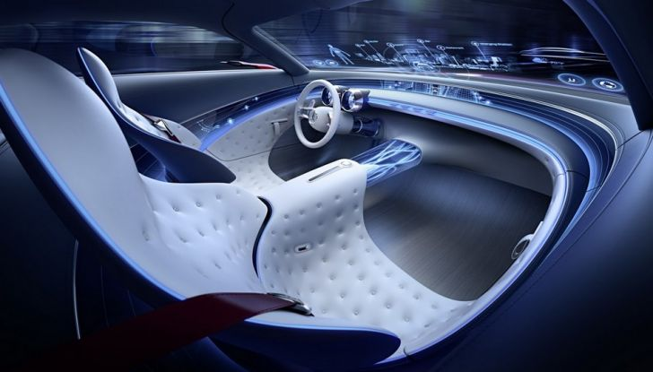 Vision Mercedes-Maybach 6: una concept elettrica da 750 CV - Foto 10 di 21