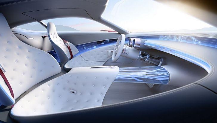 Vision Mercedes-Maybach 6: una concept elettrica da 750 CV - Foto 11 di 21