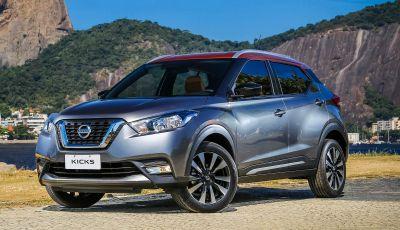Nissan Kicks, il nuovo crossover debutta in Brasile